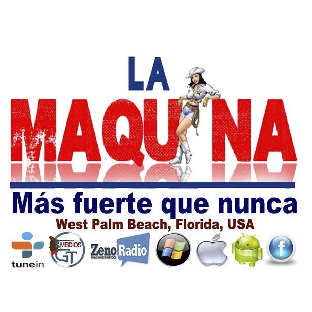 Logotipo de La Máquina Florida