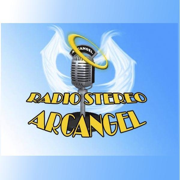 Logotipo de Estereo Arcangel 92.3 FM