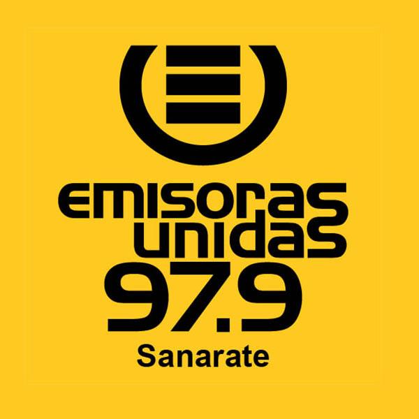 Logotipo de Emisoras Unidas Sanarate 97.9