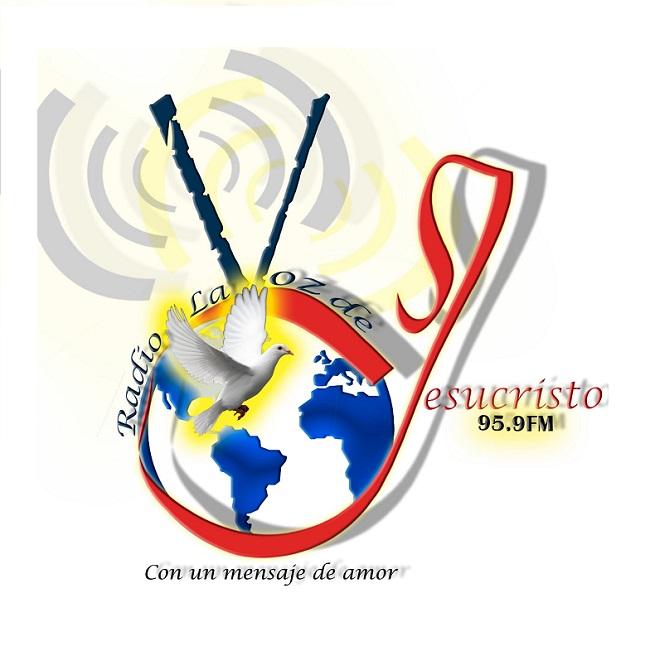 Logotipo de Radio la Voz de Jesucristo 95.9