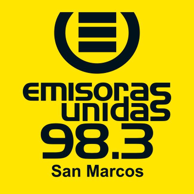 Logotipo de Emisoras Unidas SM 98.3