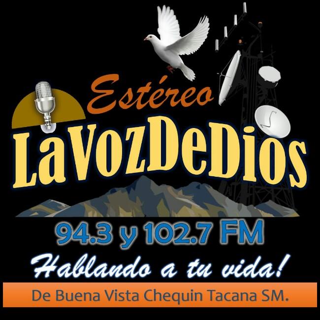 Logotipo de Estéreo La Voz de Dios