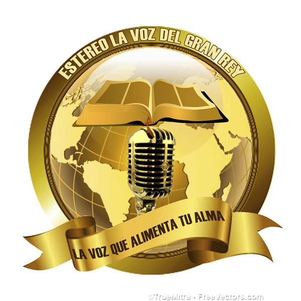 Logotipo de Estereo la voz del gran Rey