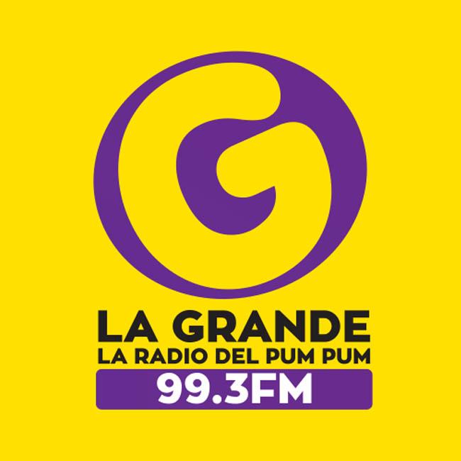Logotipo de La Grande 99.3 FM