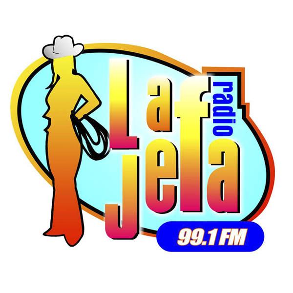 Logotipo de La jefa 99.1 FM