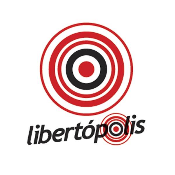 Logotipo de Libertopolis 102.1 FM