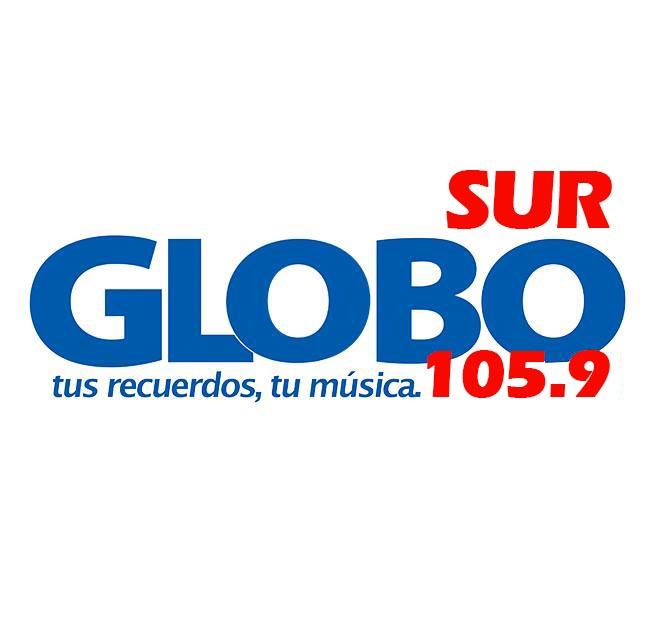 Logotipo de Globo Sur 105.9 FM