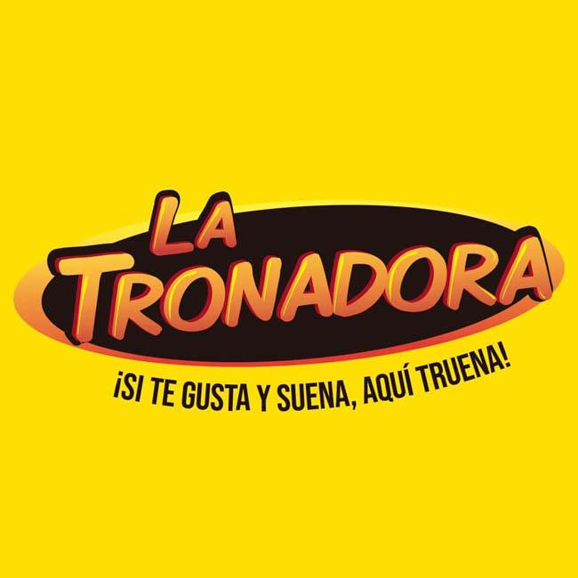 Logotipo de La Tronadora 104.1