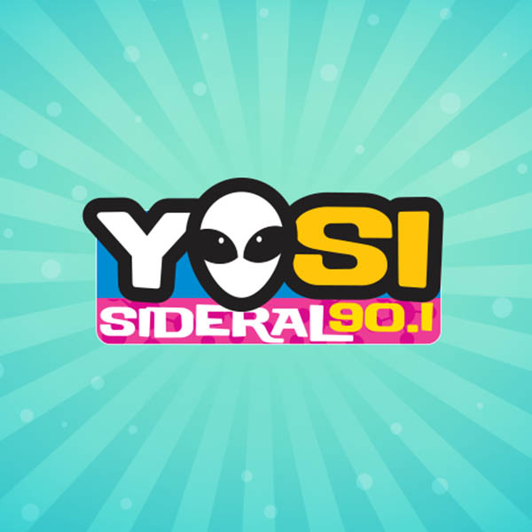 Logotipo de Yosi Sideral 90.1 fm