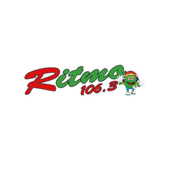 Logotipo de Ritmo FM 106.3