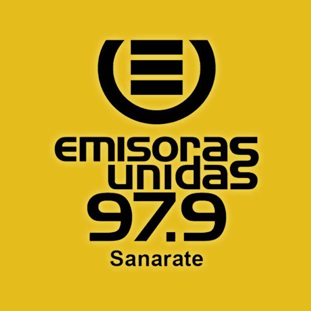 Logotipo de Emisoras Unidas Sanarate 97.9 FM