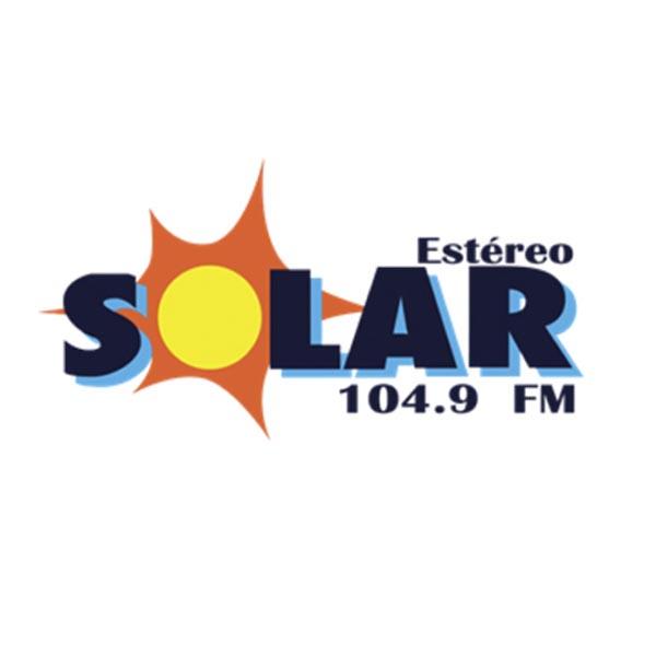 Logotipo de Estereo Solar 104.9 FM