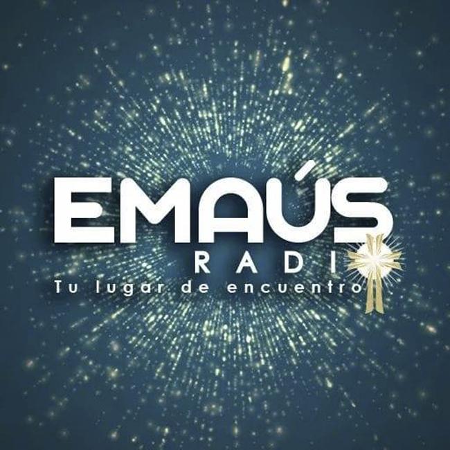 Logotipo de Emaus Radio