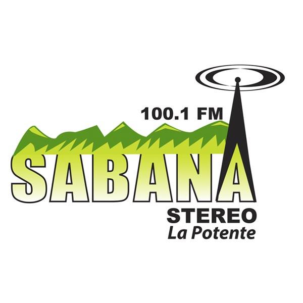 Logotipo de Sabana Stereo 100.1