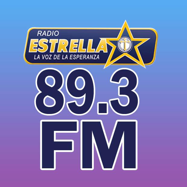 Logotipo de Estrella en línea 89.3
