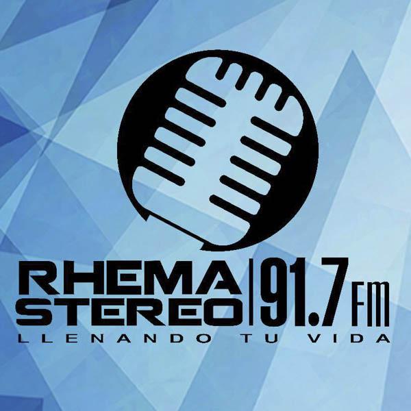 Logotipo de Rhema Stereo 91.7 FM