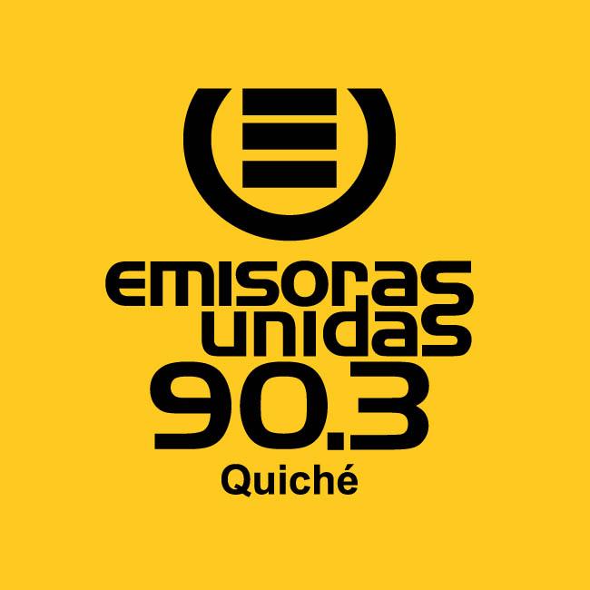 Logotipo de Emisoras Unidas 90.3 FM