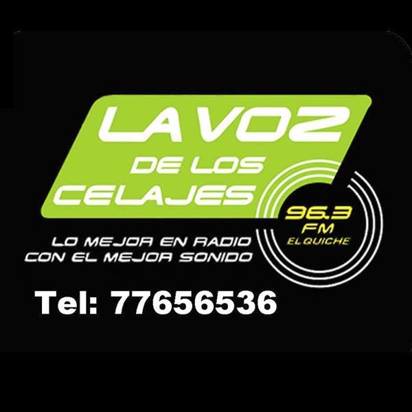 Logotipo de La voz de los Celajes 96.3 FM