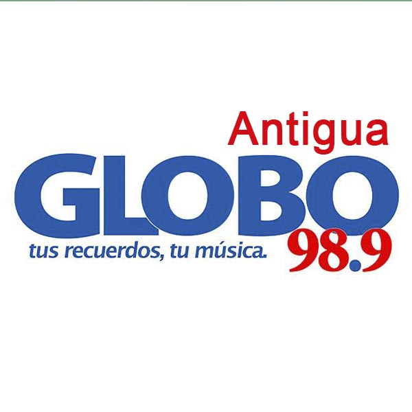 Logotipo de Globo Antigua  98.9 FM