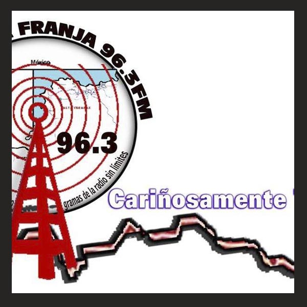 Logotipo de La Franja 96.3 FM