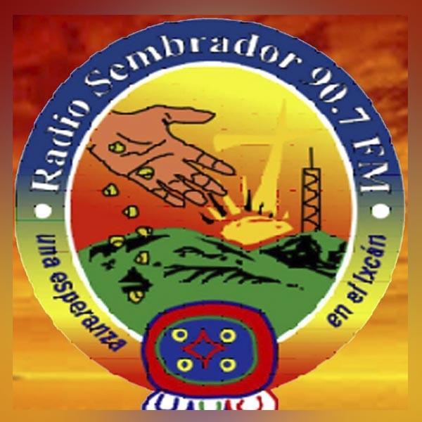 Logotipo de Sembrador 90.7 FM