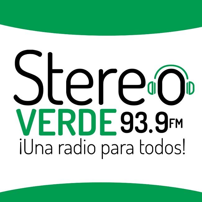 Logotipo de Stereo Verde 93.9 FM Cobán