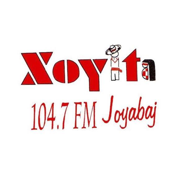 Logotipo de Stereo Xoyita 104.7 FM