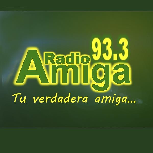 Logotipo de Amiga 93.3 FM