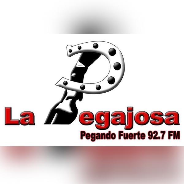 Logotipo de La Pegajosa 92.7 FM