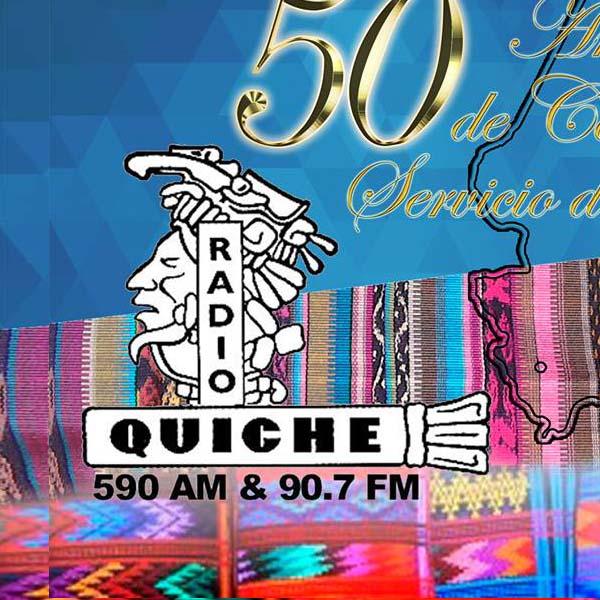 Logotipo de Radio Quiche 90.7 FM