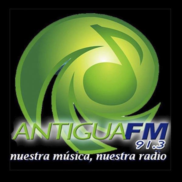 Logotipo de Antigua FM 91.3
