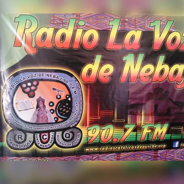 Logotipo de La voz de Nebaj