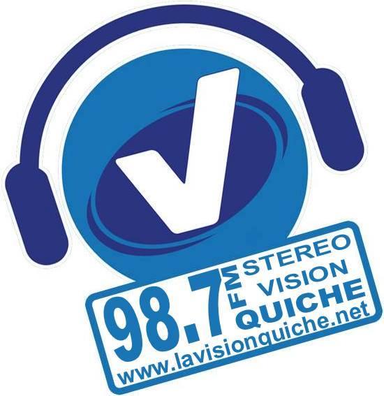 Logotipo de La vision Quiche 98.7