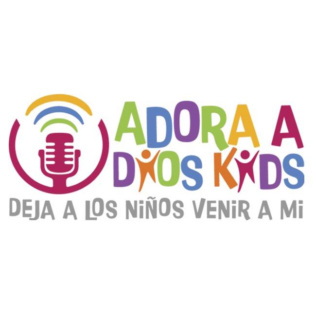 Logotipo de Adora a Dios Kids