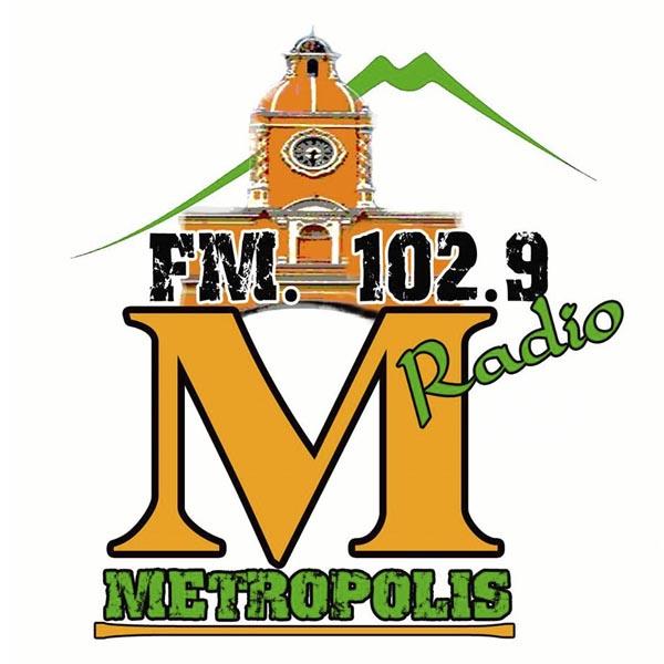 Logotipo de Metropolis Antigua 102.9