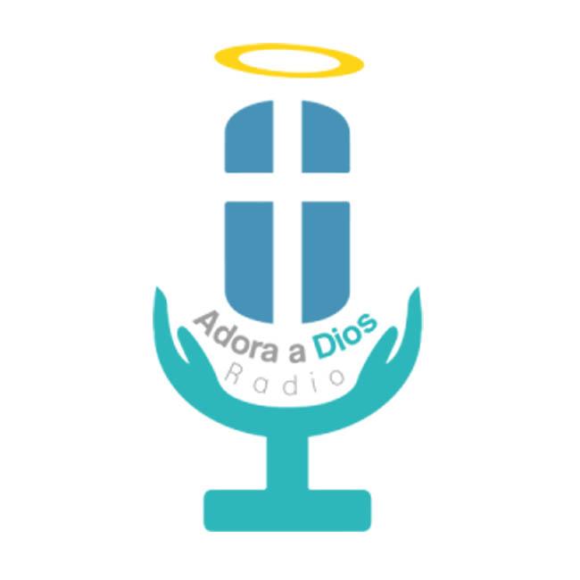 Logotipo de Adora a Dios Radio