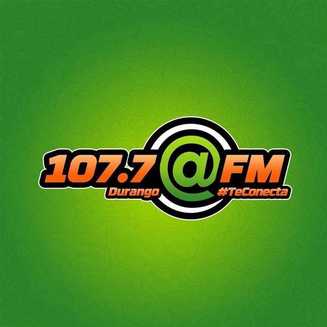 Logotipo de Arroba 107.7 FM