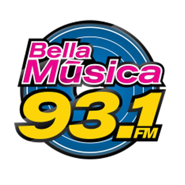 Logotipo de Bella Música 93.1 FM