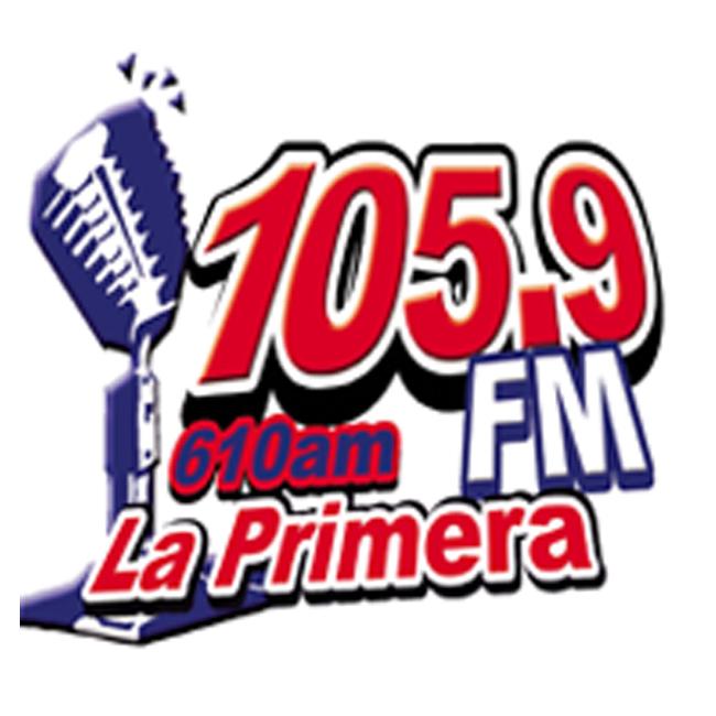 Logotipo de XEBX La Primera 610 AM