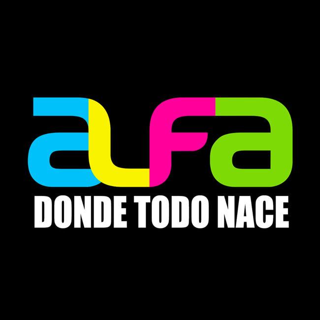 Logotipo de Alfa 91.3 FM