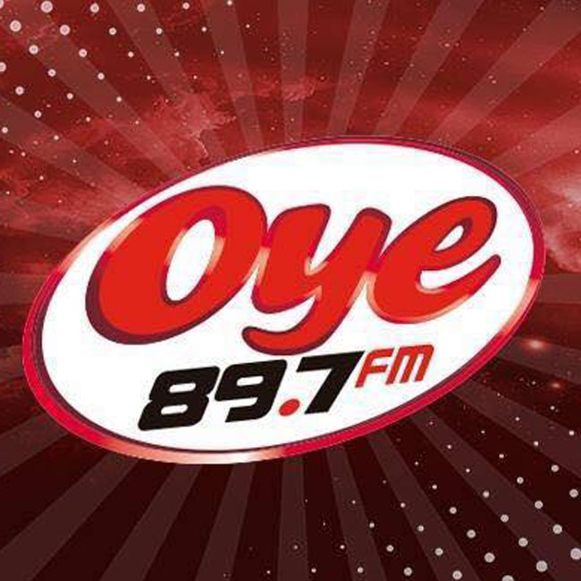 Logotipo de Oye 89.7 FM