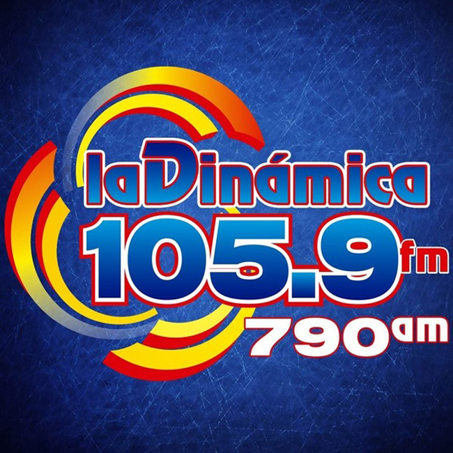 Logotipo de La Dinámica 105.9 FM