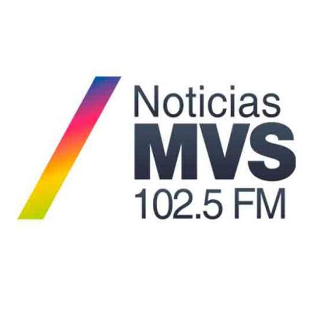 Logotipo de Noticias MVS 102.5 FM