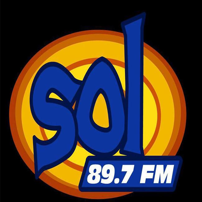 Logotipo de Sol 89.7 FM Manzanillo
