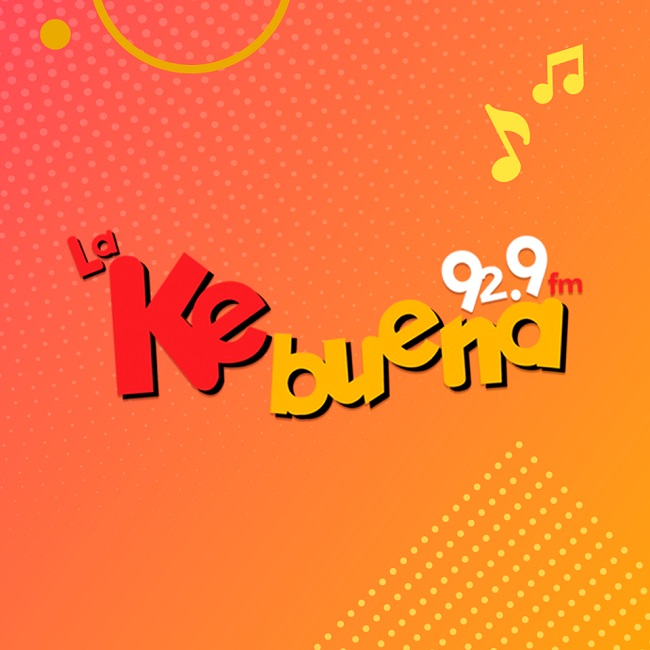 Logotipo de Ke buena 92.9 FM
