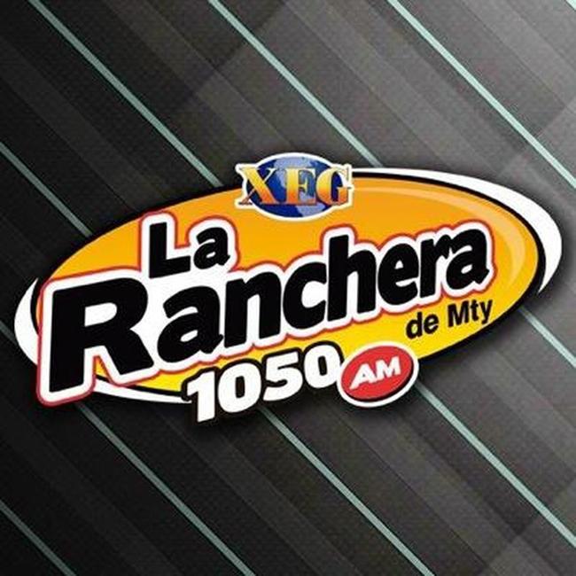Logotipo de La Ranchera de Monterrey 1050 AM