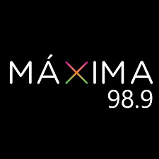 Logotipo de Máxima 98.9 FM