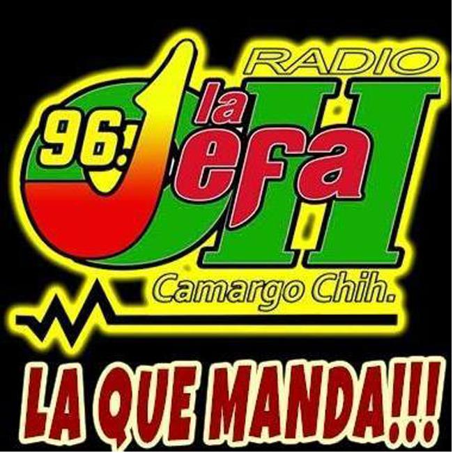 Logotipo de La Jefa Radio 96.1 FM