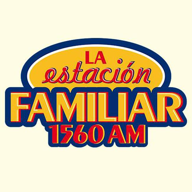 Logotipo de La Estación Familiar 1560 AM