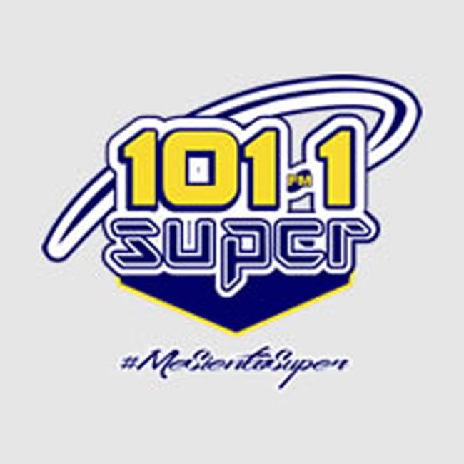 Logotipo de Súper 101.1 FM